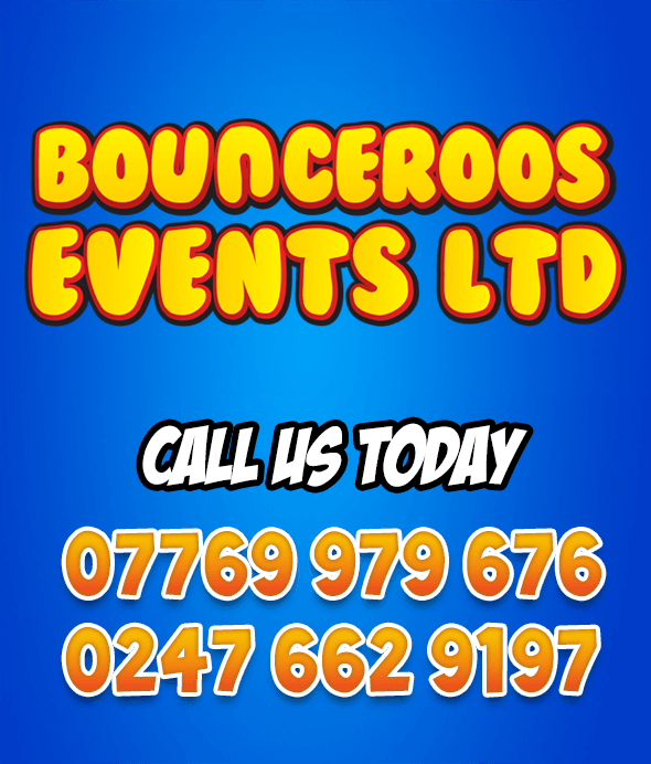 Bounceroos Bouncy Castle Hire Coventry - 07769 979 676 or 0247 662 9197